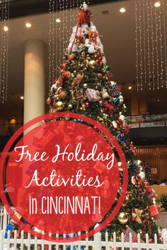 Our familly loves celebrating the holidays together, but all of the activities add up. Here are five awesome FREE holiday activities in the Queen City! via @jenniferkaufman
