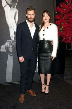 Fifty Shades premiere  in NYC.