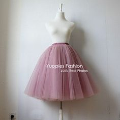 2016 Summer Tulle Long High Waist Tutu Skirts. Gender: WomenWaistline: EmpireDecoration: SashesPattern Type: SolidStyle: CasualMaterial: Polyester,Spandex,Mesh,Voile,OrganzaDresses Length: Mid-CalfSilhouette: Ball GownMaterial : Swiss / Hard Tulle, Satin / Cotton LiningColor: Mauve,Olive,Peach,Black,White,Grey,Blue,Mint,Champagne,Pink,etc SIZE CHART    Size Waist Hip Length     One Size(cm) 65-80 90 65   XL 81-90 105