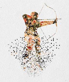 Katniss Everdeen - Fangirl - Fan Art Fangirl - The Hunger Games
