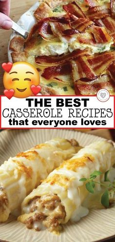 that everyone loves! The BEST Casserole Recipes Casseroles are wonderfully versatile meals. Take a look at some of the best casserole recipes that I have. Everyone is guaranteed to love these delicious meals. Dump Meals, Easy Meals, Kid Meals, Best Casseroles, Le Diner, Casserole Dishes, Chicken Casserole, Main Dish Casserole Recipes, Breakfast Casserole