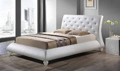 Groupon - Roanne Faux Leather Modern Beds in [missing {{location}} value]. Groupon deal price: $499.99