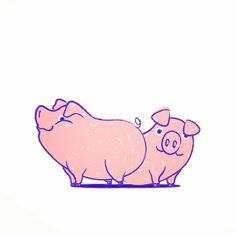 Maria Vittoria Benatti   Pigs, illustration