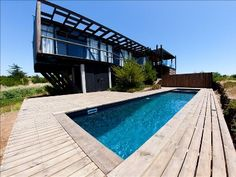 modern vacation home