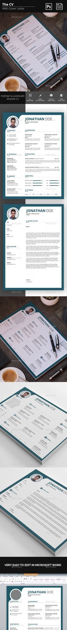 The CV 101 best Resume images on