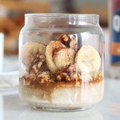 Peanut Butter Banana Overnight Oats - Recipe | QuakerOats.com