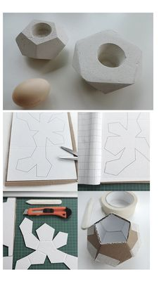 #Concrete #egg #diy