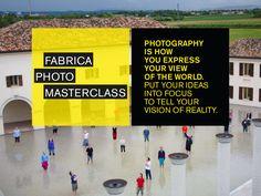 Fabrica Photo Masterclass