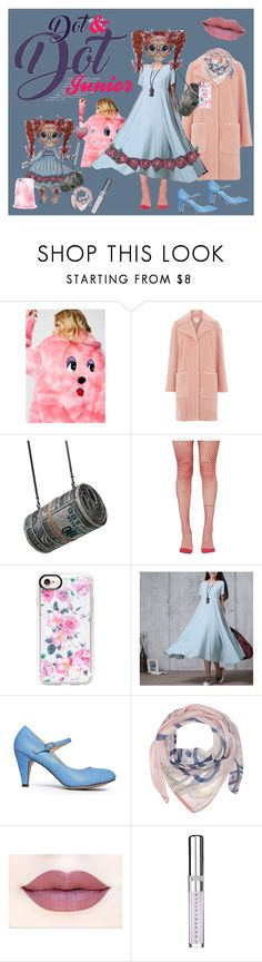"""Mother and Daughter: Dot and Dot, Junior"" by bluehatter ❤ liked on Polyvore featuring Lazy Oaf, Warehouse, Leg Avenue, Casetify, J. Adams, Vivienne Westwood and Chantecaille"