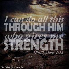 Philippians 4:13 - Strength