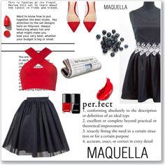 MAQUELLA by meldin on Polyvore featuring moda, Motel, Gianvito Rossi, NARS Cosmetics and Estée Lauder