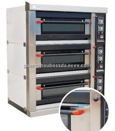 Gas Bread Deck Oven (BDR-60H) - China deck oven, Bossda Deck Oven, Gas Oven, Bread, China, Brot, Baking, Breads, Buns
