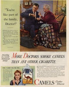 12 health lies cigarette ads