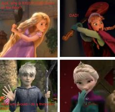 someone explain how jack an rapunzel are together please cause its rapunzel an eugiene i believe