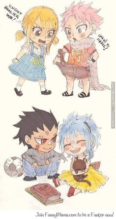 kid NALU and GALE awwwww<3<3<3