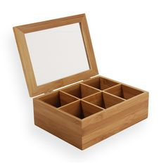 Caixa Chá Casa Ambiente - Bambu