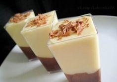 Deser waniliowo-czekoladowy ♥♥♥ Pomysł na MINI DESEREK!!!