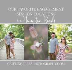Our Favorite Engagement Session Locations in Hampton Roads | The Best Photo Session Locations in Tidewater Virginia