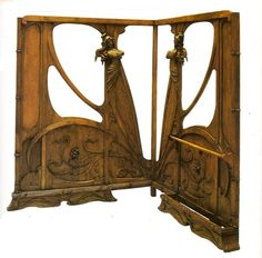 Art Nouveau Screen , 1900