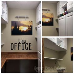 Sugar Bean Bakers: { Tiny Office: A Walk In Closet Reno }