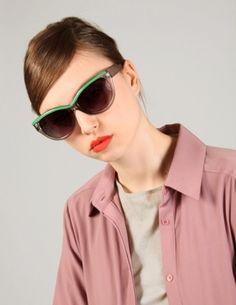 Color block cat eye sunglasses [Are6401] - $15 : Pixie Market, Fashion-Super-Market - StyleSays