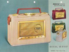 ADMIRAL Radio and Phonograph Salesman Catalog (USA 1956)_27 ...