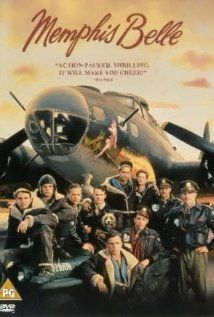 """Memphis Belle  (1990):  Matthew Modine, Eric Stoltz, D.B. Sweeney, Billy Zane, Sean Astin, Harry Connick Jr.  Ensemble suspense as a B-17 bomber crew approaches their 25th and final mission without wanting to jinx themselves.  """"Has anyone seen my Saint Anthony's medal?""""  """"Isn't he the patron saint of lost things?""""  """"Yeah, I can't find it."""""""