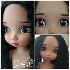 #ooak #ooakdisney #pocahontas #animator #repaint