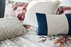 Add colour and floral prints for a bolder summer sleep space.