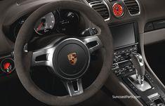 Sport Steering Wheel - Alcantara