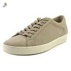 MICHAEL Michael Kors Women's Keaton Kiltie Sneaker Cement Sport Suede 11 M - Michael kors sneakers for women (*Amazon Partner-Link)