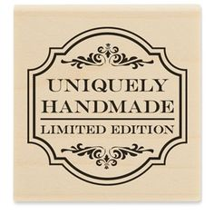 Stampabilities Uniquely Handmade Rubber Stamp | Shop Hobby Lobby