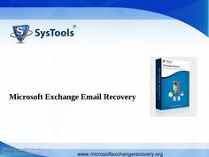 Microsoft Exchange disaster email recovery software used to recover emails of mailboxes from server errors and transfer them into new/healthy Exchange server environment.