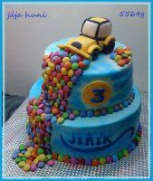 RECEPTY DORTY Birthday Cake, Food, Birthday Cakes, Birthday Cookies, Meals