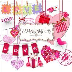 SUPER FREEBIES Blog: Freebies Kit - Valentines Day