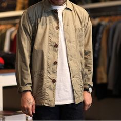 Numbersixlondon in our Bakers Overshirt