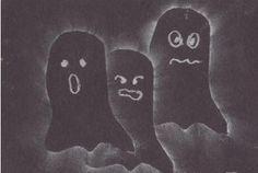 Ghost Rubbings as seen on Third Grade Troop    www.thirdgradetroop.com