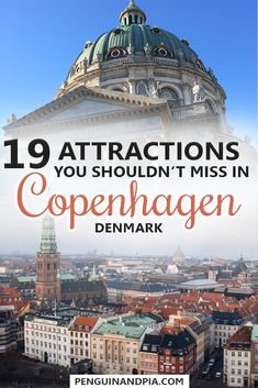Copenhagen, Denmark, offers many things to do and see. We show you 19 attractions that you shouldn't miss when visiting the Danish capital. From Nyhavn to Tivoli Gardens and beautiful parks, there is Europe Travel Tips, European Travel, Travel Destinations, Budget Travel, Travel Guide, Copenhagen Travel, Copenhagen Denmark, Stockholm Sweden, Copenhagen Attractions