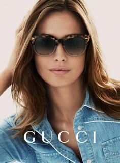 18b76770214 Nadja Bender by Mert   Marcus for Gucci Eyewear Spring Summer Campaign