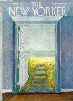 """The New Yorker"" cover Karasz, July 11, 1970"