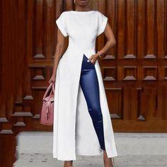 Blouse Sexy, Tunic Blouse, Shirt Blouses, Blusas Oversized, Sexy Bluse, Fashion Pattern, Origin Clothing, Moda Afro, Dressy Skirts