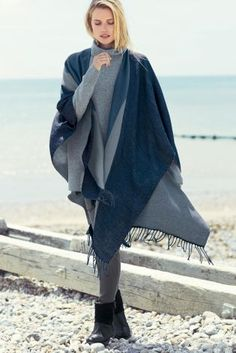 Buy Navy Geo Cape from the Next UK online shop