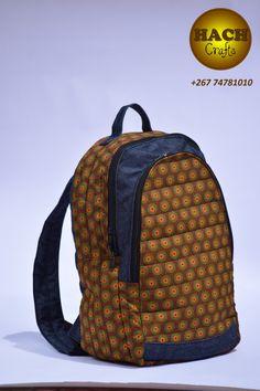 Shwe shwe backpack Ankara Bags, Printed Bags, African, Women's Fashion, Backpacks, Crafts, Art, Art Background, Manualidades