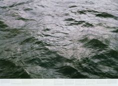 Roni Horn - Still Water (The River Thames, for Example) | From a unique collection of photography at http://www.1stdibs.com/art/photography/