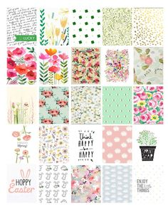 planner stickers spring - Google Search