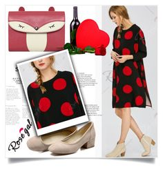 """Happy Women`s Day"" by zenabezimena ❤ liked on Polyvore featuring fashionset, polyvoreeditorial, rosegal and womensday"