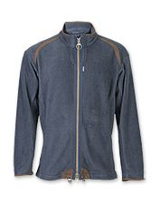 Relaxed, yet handsome, a Barbour fleece zip jacket is an easy choice for laid-back days.
