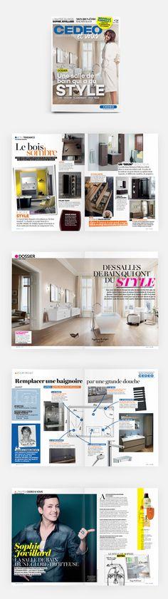 Découvrez la nouvelle formule de Cedeo&Vous, le magazine des tendances de la salle de bain totalement relooké !  #OPS2