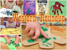 western roundup  of toddler arts & crafts!