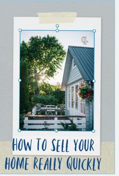 A look at how to see a home fast. This ca be tricky in a slow market when real estate is not shifting . But here are host of house selling hacks to help you sell your home really quickly Beautiful Space, Beautiful Homes, Sell My House Fast, Uk Lifestyle, Moving House, Saving Ideas, Home Hacks, Simple House, Saving Money